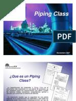 Piping Class