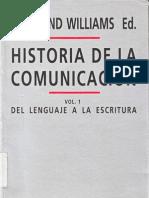 53022475 Raymond Williams Historia de La Comunicacion I Del Lenguaje a La Escritura