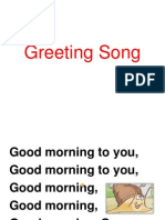 Greeting Song Let's Be Friends