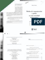 Curran James Medios de Comunicacion y Poder en Una Sociedad Democratica 2002