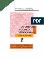 Instituto Federal Electoral - C2 La Cultura Politica Democratica