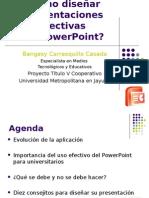 Cómo Diseñar Presentaciones Efectivas Con Power Point
