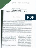 PELEGRIN Les Techniques 2000