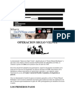 Atentado a Presidente Pinochet