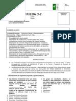CIENCIAS NATURALES - PRUEBA SEMESTRAL 8º PRIMER SEMESTRE 2012