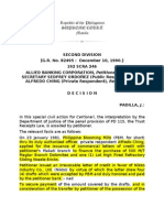 Allied Bank vs Ordonez (Trust Receipt Law)