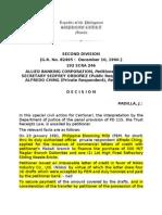 Allied Bank vs Ordonez (Trust Receipt Law)