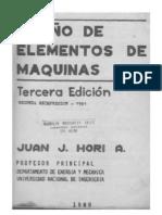 Diseño de Elementos de Máquinas-J. Hori