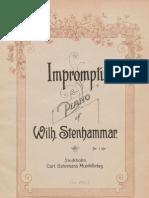 IMSLP73405 PMLP35685 Stenhammar Impromptu