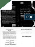 48836122 Libro La Escuela Enredada Angel San Martin Alonso
