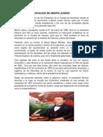 NATALICIO DE BENITO JUÀREZ