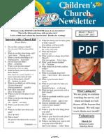 Newsletter 3-10-12