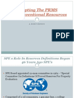 Adapting PRMS to Unconventional Resources_presentation