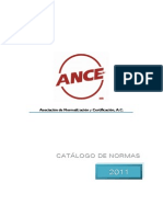catalogo de normalización ance