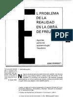 Aportes para una epistemología Freudiana - José Perres- El problema de la realidad en la obra de Sigmund Freud