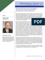 Reconsidering Environmental Considerations 2006