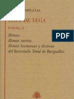 52147176 Lope de Vega Obras Completas Poesia