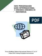 Ratifikasi Perjanjian Internasional