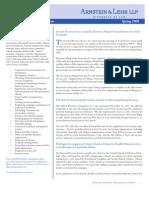 Nonprofit Organizations Update Spring 2008