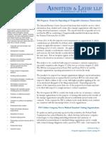 Nonprofit Organizations Update Spring 2007
