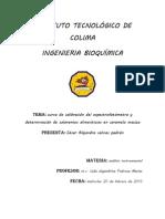 PRA2curva de Calibracion