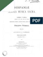 Hispaniae Schola Musica Sacra (Ed.pedrell)