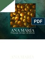 Catálogo Homenaje Ana María
