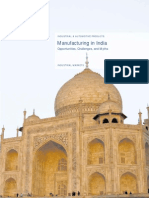 Manufacturing in India Kpmg