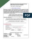 2009-2010 - Scholarship - Re-Applying Student Application - FINAL