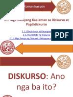 Mga Batayang Kaalaman Sa Diskurso at Pagdidiskurso_FRESNIDO_LUMABAS_CADDAWAN