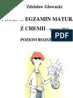 TUTOR-CH-R-201303 Chemia poziom rozszerzony matura 2013 Zdzisław Głowacki-10 s
