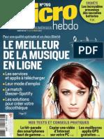 Micro Hebdo N°769 Du 07 au 13 Mars 2013