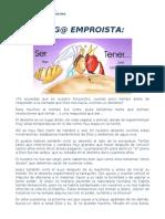 1. Amig@ Emproista (1º Domingo de Cuaresma)