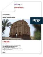 The Villages Directory District Kamber Shahdadkot Sindh-Pakistan 2013