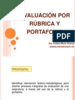 Evaluación por rúbrica y portafolio.ppt