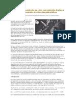 Obtención de concentrados de cobre con contenido de plata a partir de leyes marginales en minerales polimetálicos