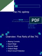 741 Internal Circuits