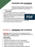 B1-Skim & Scan(Reference)