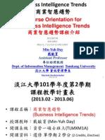 1012BIT01 Business Intelligence Trends