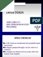 Spray Dryer Design Ppt