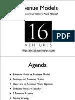Revenue Model Slide Deck