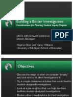 MSTA Investigations