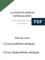 Biochimie du Système Cardiovasculaire