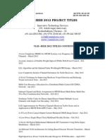 vlsi project titles