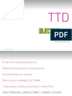 Libro Ttd Objectified