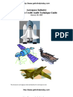 IRS Audit Guide for the Aerospace Industry