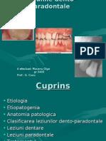 Leziunile dento-paradontale