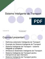 Curs 11 Sisteme Inteligente de Transport
