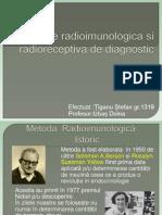 Metodele Radioimunologica Si Radioreceptiva de Diagnostic