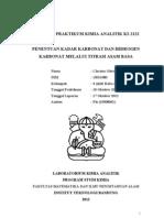 Laporan Praktikum Kimia Analitik (3)